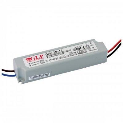 Zasilacz MONTAŻOWY GPV LED 12V / 20W / wodoodporny - IP67