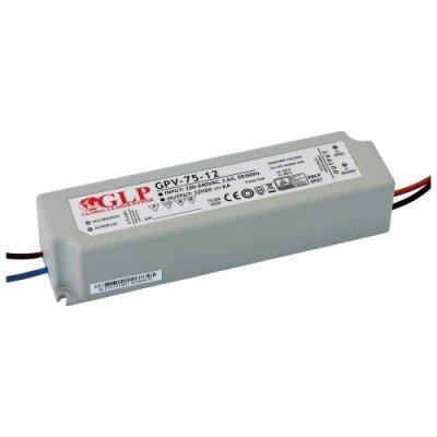 Zasilacz MONTAŻOWY GPV LED 12V / 75W / wodoodporny - IP67