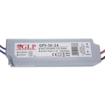 Zasilacz MONTAŻOWY GPV LED 24V / 50W / wodoodporny - IP67