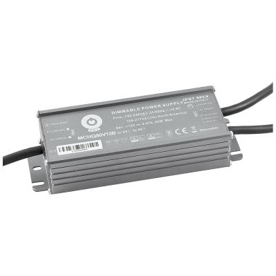 Zasilacz MONTAŻOWY MCHQ LED 24V / 80W / 3.3A / wodoodporny - IP67 PFC DIM