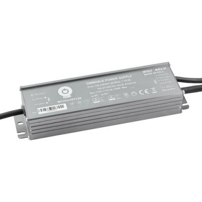 Zasilacz MONTAŻOWY MCHQ LED 24V / 185W / 7.7A / wodoodporny - IP67 PFC DIM
