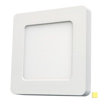 PANEL LED DOWNLIGHT Ledline 6W 470lm 230V biały dzienny kwadrat