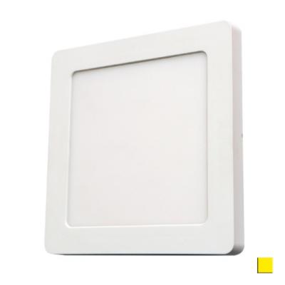 PANEL LED DOWNLIGHT Ledline 12W 850lm 230V biały ciepły kwadrat