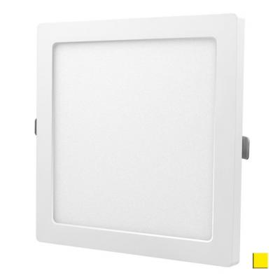 PANEL LED DOWNLIGHT Ledline 18W 1300lm 230V biały ciepły kwadrat