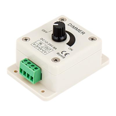 Ściemniacz LED manualny dimmer 12-24V 8A