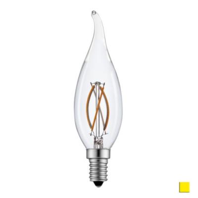 Żarówka LED LEDLINE E14 mały gwint 2W filament F35 świeczka biała ciepła