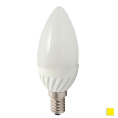 Żarówka LED LEDLINE E14 mały gwint 5W świeczka biała ciepła