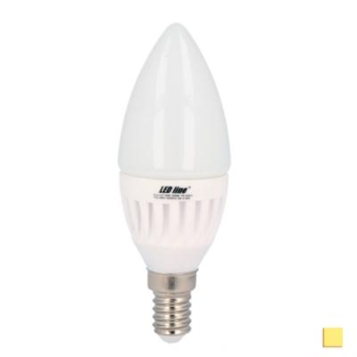 Żarówka LED LEDLINE E14 mały gwint 7W świeczka biała dzienna