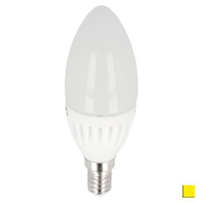 Żarówka LED LEDLINE E14 mały gwint 9W świeczka biała ciepła