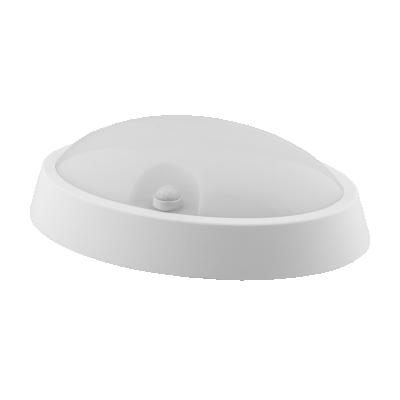 PLAFON LED Owalny RUBI 12W Biały Neutralny IP65 840lm 4000K z czujnikiem