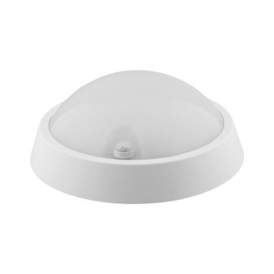PLAFON LED Okrągły CESI S 12W Biały Neutralny IP65 840lm 4000K z czujnikiem PIR