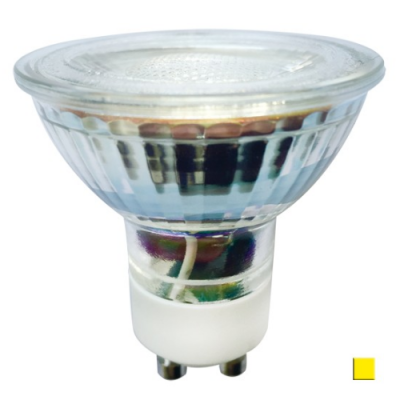 Żarówka LED LEDLINE GU10 halogen 5W 50˚ biała ciepła