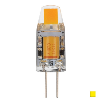 Żarówka LED LEDLINE G4 1,5W 10-18V biała ciepła