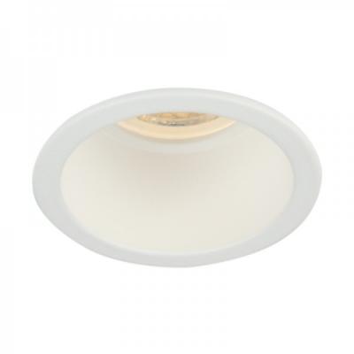 Oprawa sufitowa VITA S oczko LED halogenowa dekoracyjna GU10 okrągła aluminium biały