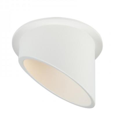 Oprawa sufitowa VITA L oczko LED halogenowa dekoracyjna GU10 okrągła aluminium biały