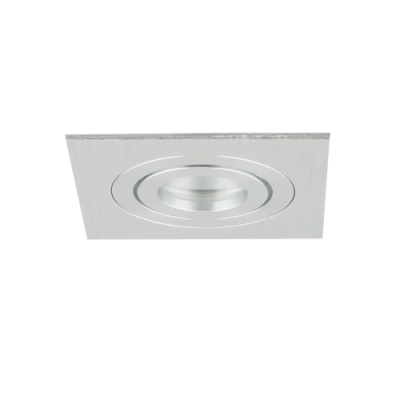 Oprawa sufitowa do wbudowania LED dekoracyjna MR11 kwadratowa ruchoma aluminiowa