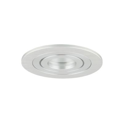 Oprawa sufitowa do wbudowania LED dekoracyjna MR11 okrągła ruchoma aluminiowa