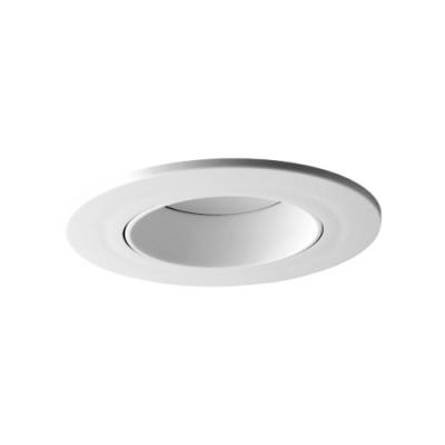 Oprawa sufitowa do wbudowania LED dekoracyjna MR16/GU10 okrągła ruchoma z tworzywa
