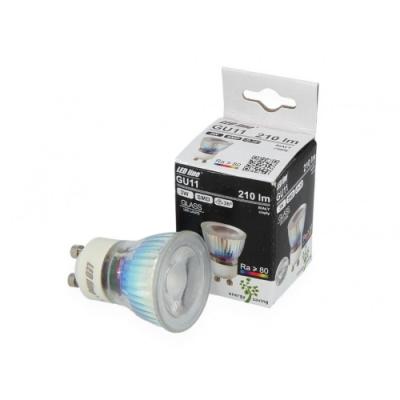 Żarówka LED GU11 SMD 200~240V 3W 210lm biała 4000K
