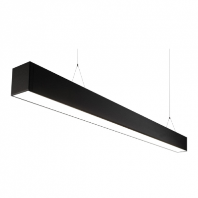 Lampa Liniowa LED biurowa IP20 60W 4500K 5700lm czarna