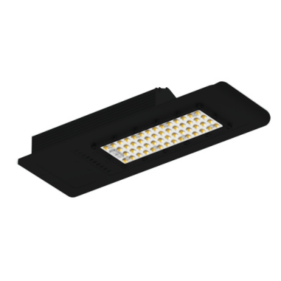 Oprawa słupowa/uliczna LED 60W IP65 7500lm barwa biała neutralna czarna