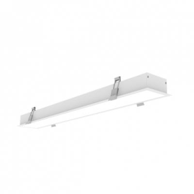 LAMPA BIUROWA LED 60W 5700lm 230V biały dzienny podtynkowa biała