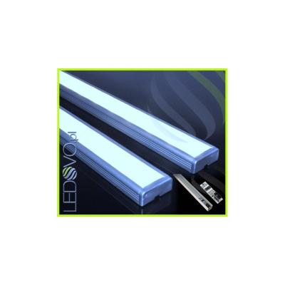 LISTWA LED PODSZAFKOWA Semi 50cm / diody 3528 / biała zimna + WYŁĄCZNIK