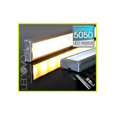 LISTWA LED Semi 5050 / 440 LUMENÓW / biała ciepła / 50cm + WYŁĄCZNIK