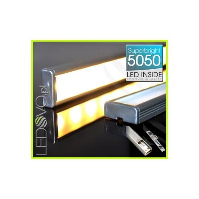 LISTWA LED Semi 5050 / 880 LUMENÓW / biała ciepła / 100cm + ŚCIEMNIACZ