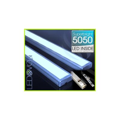 LISTWA LED Semi 5050 / 880 LUMENÓW / biała zimna / 100cm + ŚCIEMNIACZ