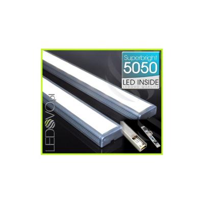 LISTWA LED Semi 5050 / 440 LUMENÓW / biała neutralna / 50cm + ŚCIEMNIACZ