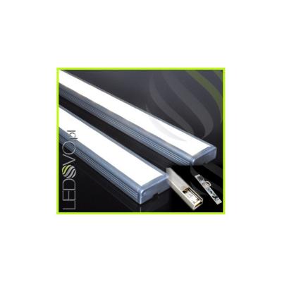 LISTWA LED PODSZAFKOWA Semi 100cm / diody 3528 / biała neutralna + ŚCIEMNIACZ