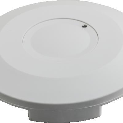Czujnik ruchu mkrofalowy LED detektor biały 360° IP20