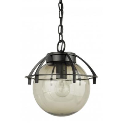Lampa sufitowa Kule z koszykiem 25 cm dymione