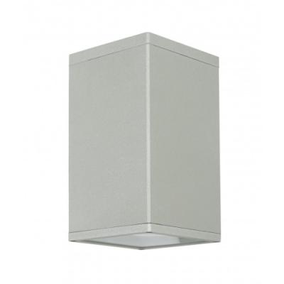 Lampa sufitowa Adela kwadratowa srebrny