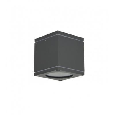 Lampa sufitowa Adela Midi kwadratowa ciemnoszary