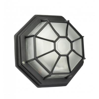 Lampa sufitowa natynkowa Retro Classic K czarny