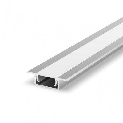 Profil LED Wpuszczany TLD6-2 AN z kloszem mlecznym 1m