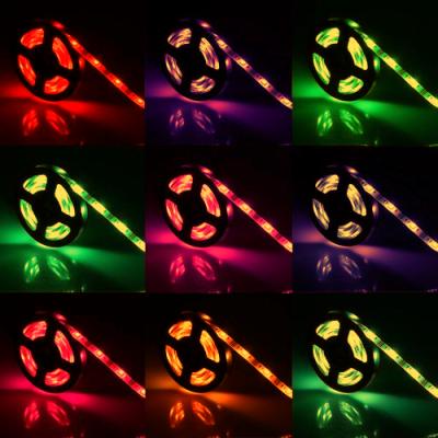 TAŚMA LED RGBW RGB+BIAŁY CIEPŁY w JEDNEJ DIODZIE/ Epistar 5050 150 LED / 1 mb
