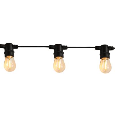 Girlanda ogrodowa PARTY F2 zestaw z żarówkami LED ciepłe filament 36V