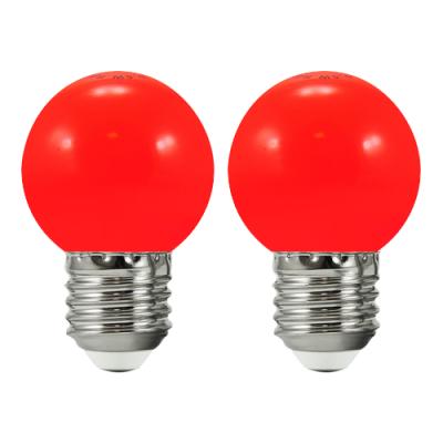 2 żarówki do girlandy PARTY E27 36V czerwone