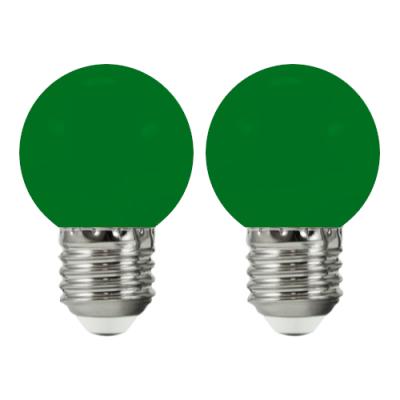 2 żarówki do girlandy PARTY E27 36V zielone