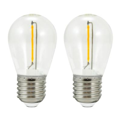2 żarówki do girlandy PARTY E27 36V białe ciepłe filament