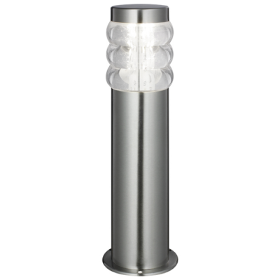 LAMPA ZEWNĘTRZNA STOJĄCA Porto 34 cm satyna