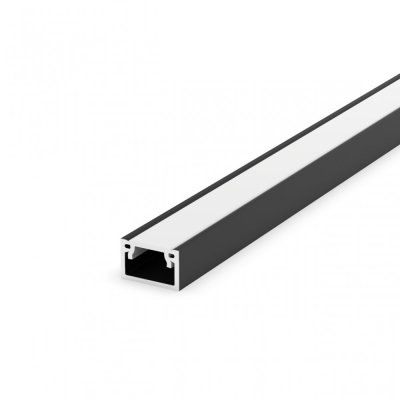 Profil LED Nawierzchniowy TLD4-2 BL z kloszem mlecznym 2m