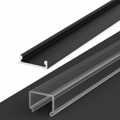 Profil LED Nawierzchniowy TLD4-3 BL z kloszem transparentnym 1m