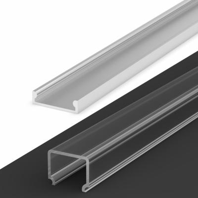 Profil LED Nawierzchniowy TLD4-3 AN z kloszem transparentnym 2m