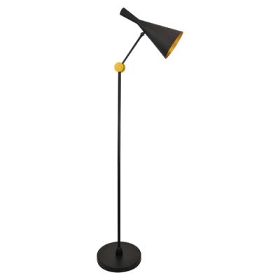 Lampa stojąca Modern E27 czarna
