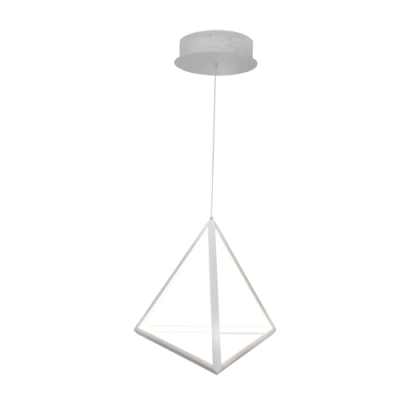 Lampa sufitowa Trójkąt LED