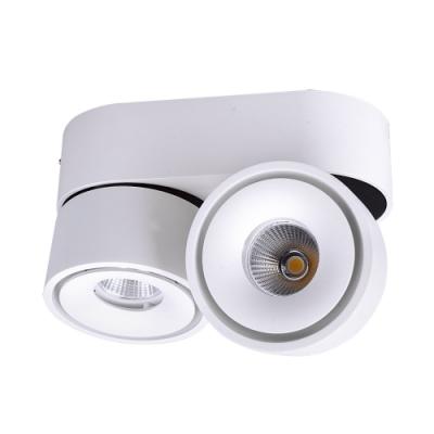 Oprawa natynkowa LAHTI MINI LED 2 biała